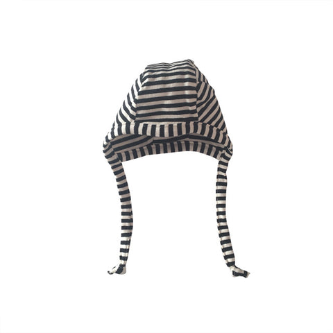 Black Stripe Bonnet