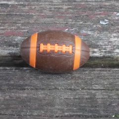 ER-FOOTBALL-Iwako Japanese Puzzle Eraser-Football-Brown/Orange