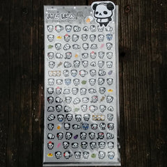QL81365-Q-Lia Design Ojipan (Uncle Panda) Captain Combover Sticker Sheet
