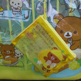BV34601-San-X Rilakkuma Fresh Lemons Large PVC Handbag with Attached Change Purse