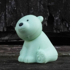ER-WILDANIMALS-Iwako Wild Animal Japanese Puzzle Eraser-Polar Bear Blue