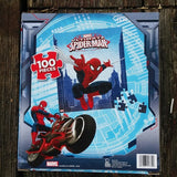 FSP007-PZZL01-Marvel Comics Ultimate Spider-Man 100 Piece Puzzle