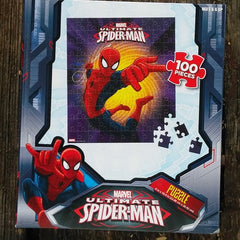 FSP008-PZZL02-Marvel Comics Ultimate Spider-Man 100 Piece Puzzle