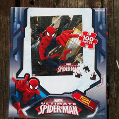 FSP009-PZZL03-Marvel Comics Ultimate Spider-Man 100 Piece Puzzle