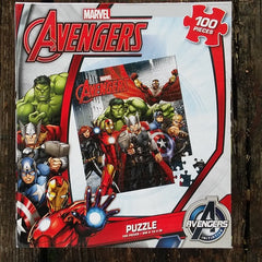 FSP011-PZZL05-Marvel Comics Avengers Initiative 100 Piece Puzzle