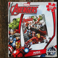 FSP014-PZZL08-Marvel Comics Avengers Initiative 100 Piece Puzzle