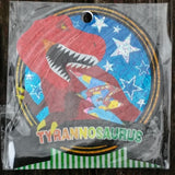 QL61129-Q-Lia Design Tyrannosaurus 71 Piece Flake Sticker Pack