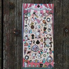 SE02701-San-X Sentimental Circus Welcome to Sentimental Circus Sticker Sheet