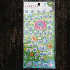 SE07903-San-X Rolling Boulder Gather No Moss Sticker Sheet-Park Path