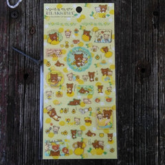 SE26602-San-X Rilakkuma Fresh Lemons Sticker Sheet-Yellow