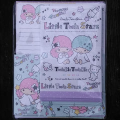 SJ11302-Sanrio Japan Little Twin Stars Large Letter Set-Twinkle Twinkle