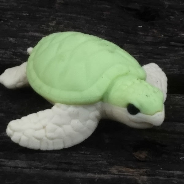 ER-TORTOISE-Iwako Sea Animal Japanese Puzzle Eraser – Green Tortoise