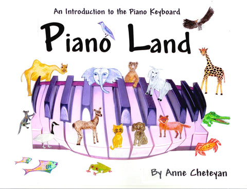 Piano Land: An Introduction to the Piano Keyboard