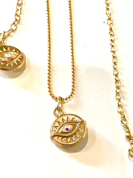Evil Eye Mini Pendant