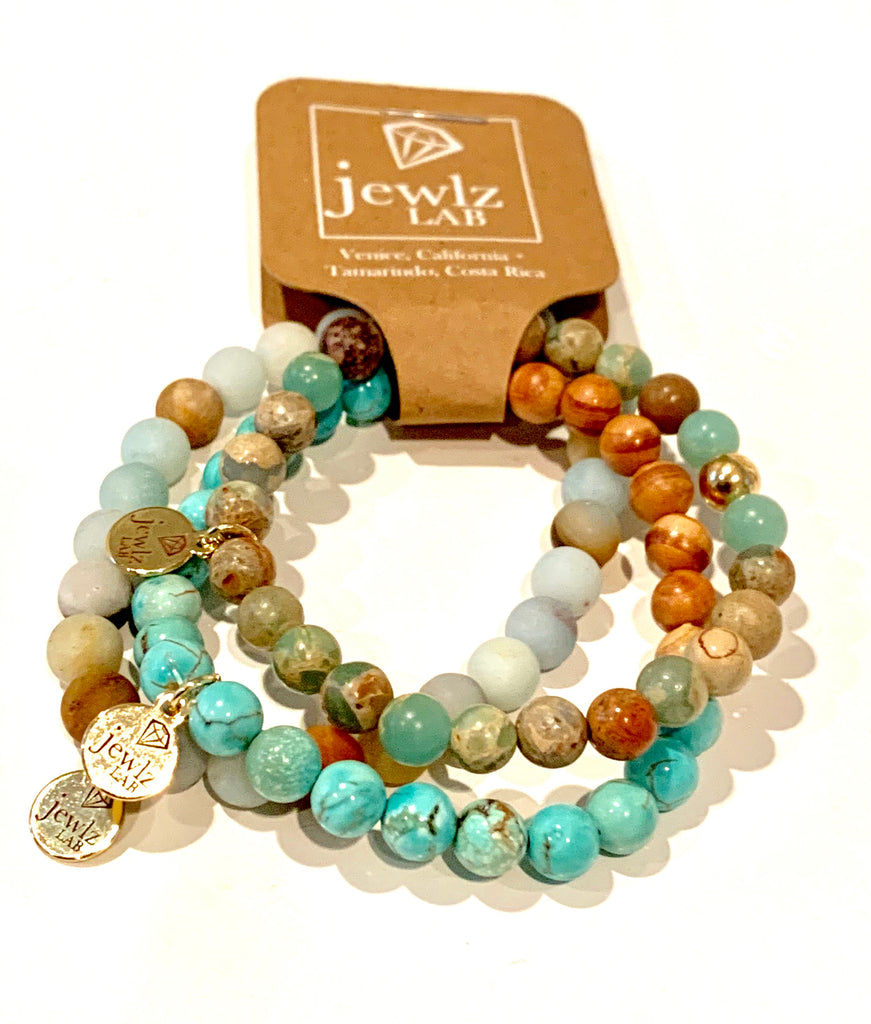 Turquoise Stretch Trio #pop-of-color