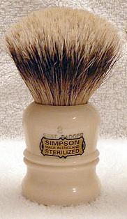 Simpsons Duke 2 Best Badger Shaving Brush