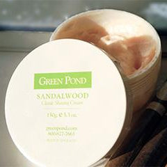 Green Pond Sandalwood Shaving Cream