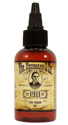 Wm. Neumann & Co. 1911 Pre-Shave Oil