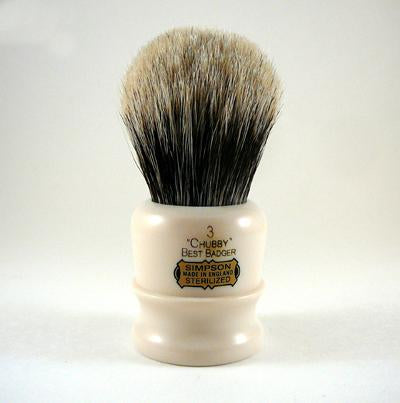 Simpsons Chubby 3 Best Badger Shaving Brush