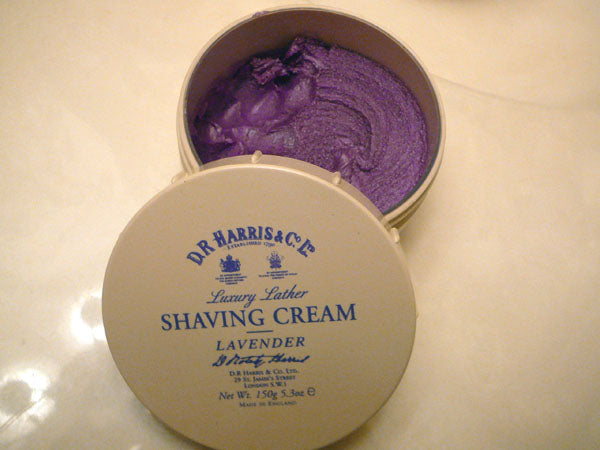 DR Harris Lavendar Shaving Cream