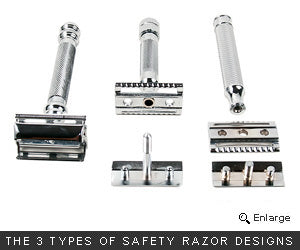 Types of Safety Razors
