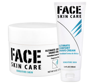 Face Skin Care Shave Cream