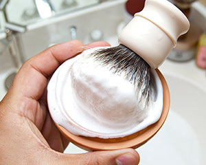 Exfoliating with Wet Shaving