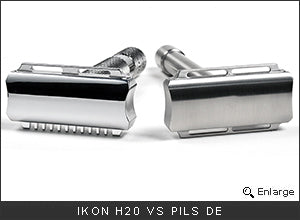 iKon H20 Bulldog Safety Razor vs PILS DE