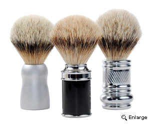 Bulb-Shaped Loft Shaving Brushes