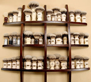 Mike Sandoval's Shaving Brushes