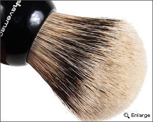 Shavemac Series 167 D01 Silvertip Shaving Brush