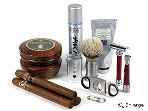 Going Old School: Tobacco and Shaving Accessories