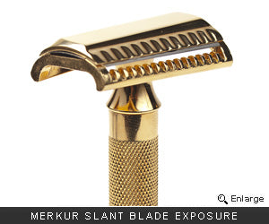 Merkur Slant Cutting Head