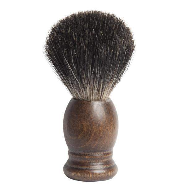 """1907"" Fine Badger Shaving Brush - Walnut-"