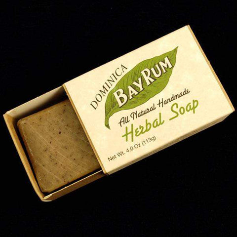 4 oz. Dominica Bay Rum Herbal Soap-