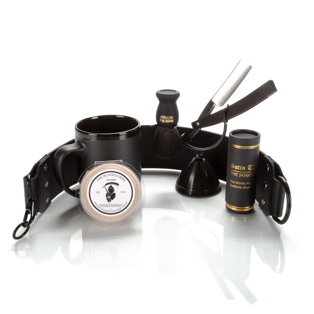 The Blackout Straight Razor Set