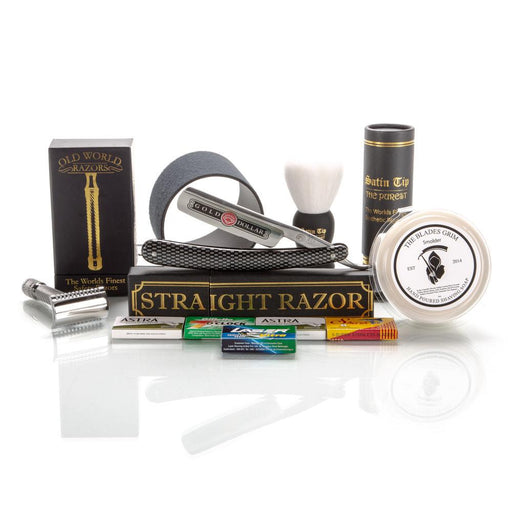 Straight & Safety Razor Wet Shave Kit