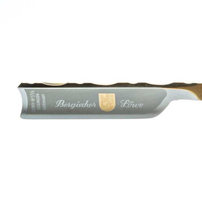"DOVO 5/8"" ""Bergisher Lowe"" Straight Razor with Luxury Shave Set"