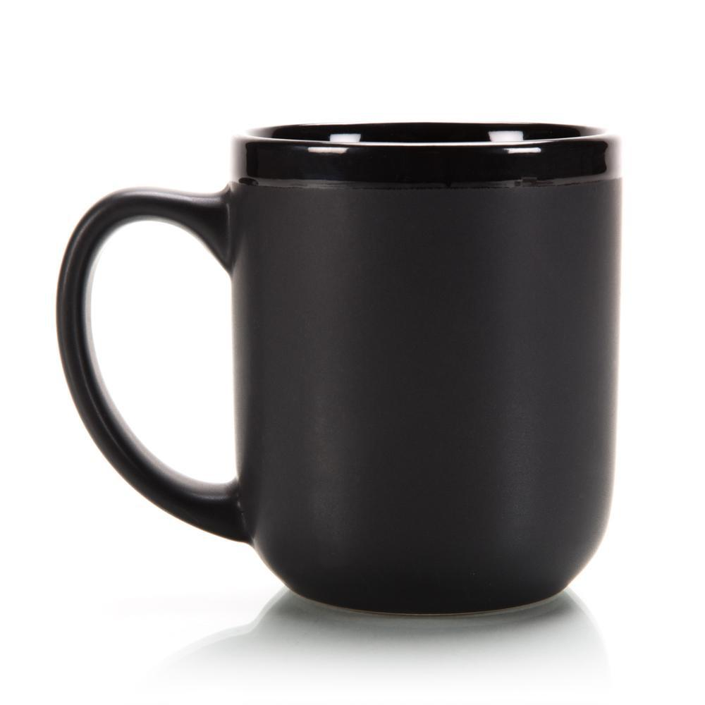 "Classic ""New School"" Black Shaving Mug With Soap"