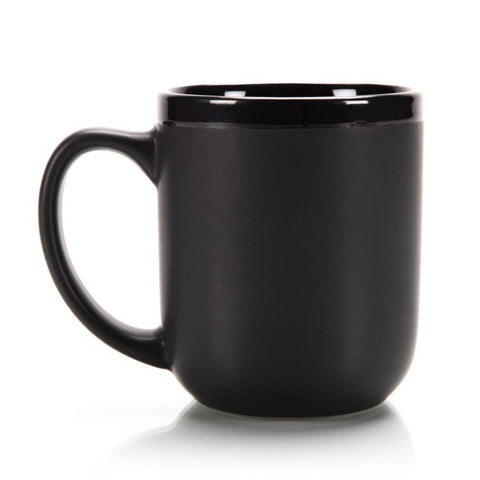 "Classic ""New School"" Black Shaving Mug With Soap 