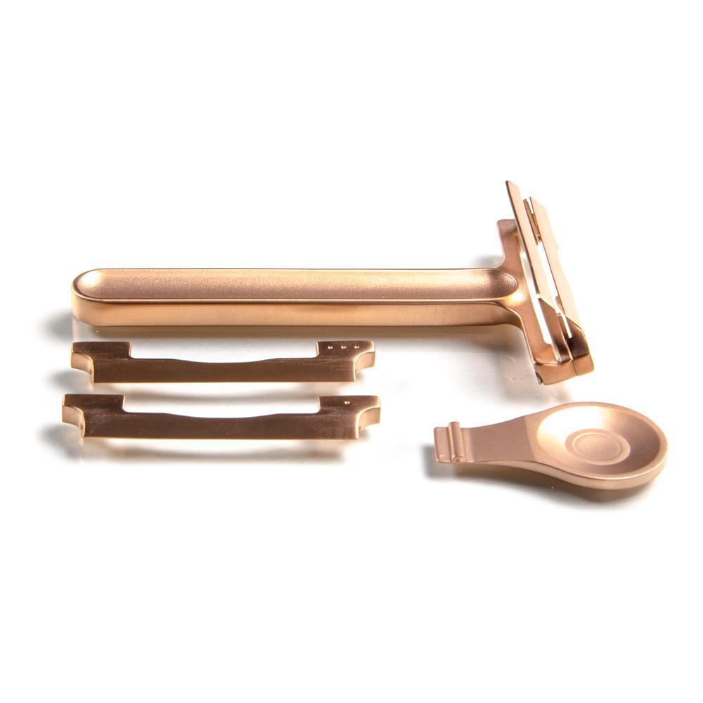 Rose Gold Occam's Razor - Single Edge Safety Razor