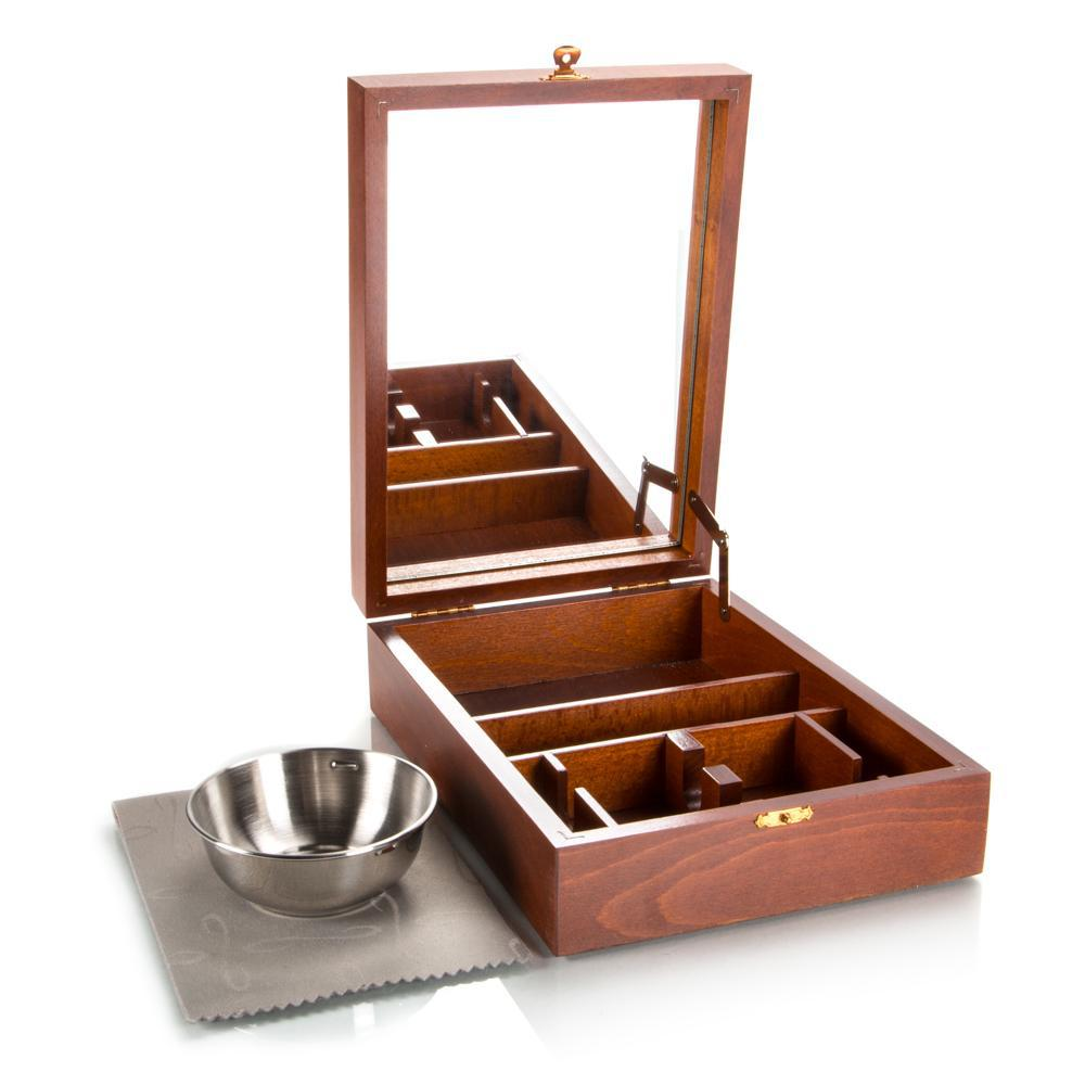 Thiers-Issard Historic Safety Razor Box with Bowl