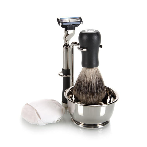 4 Piece Mach III Shave Set W/ Soap