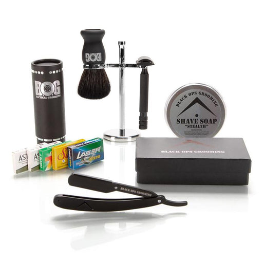 BOG M2 Safety Razor and Shavette Razor Kit