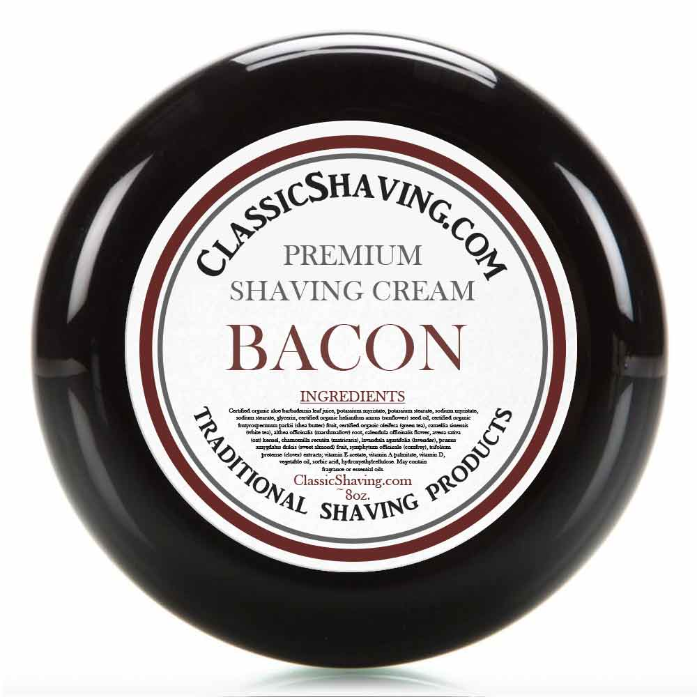 Bacon - Classic Shaving Cream
