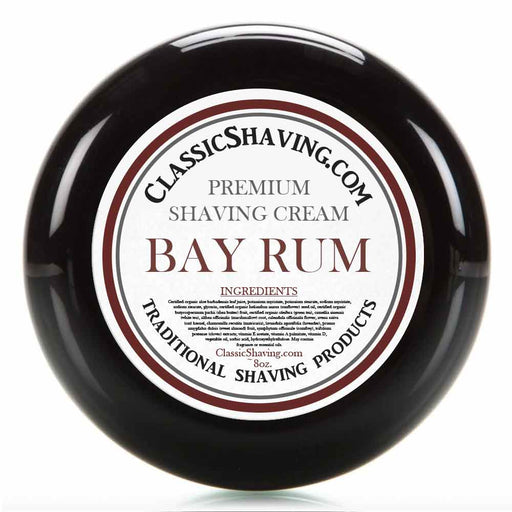 Bay Rum - Classic Shaving Cream