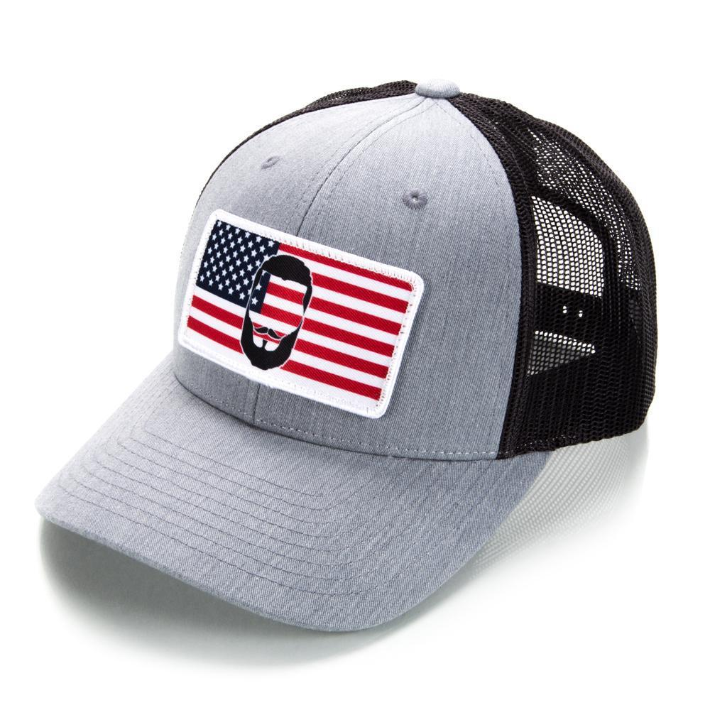 """Beard Flag"" - Low Pro Trucker Hat"