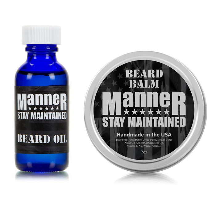 Manner Beard Oil & Balm Combo