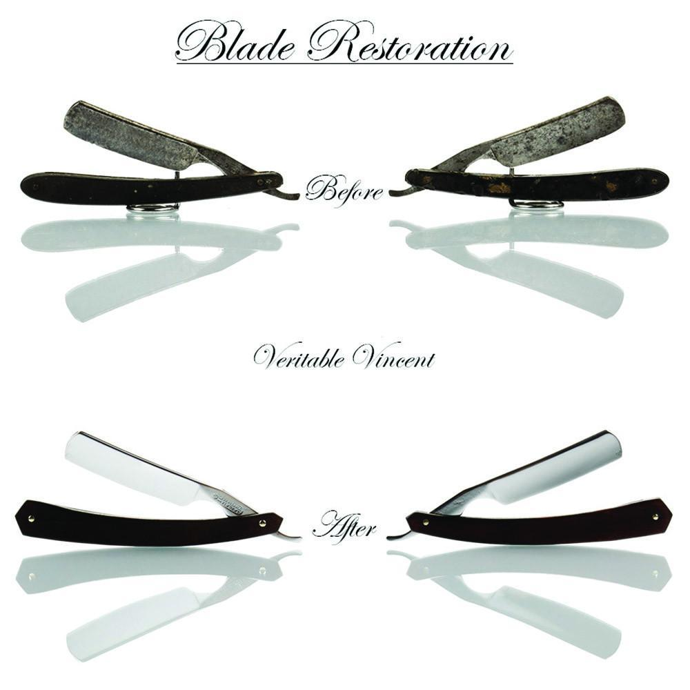 Full Straight Razor Restoration