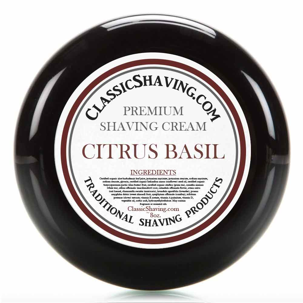 Citrus Basil - Classic Shaving Cream